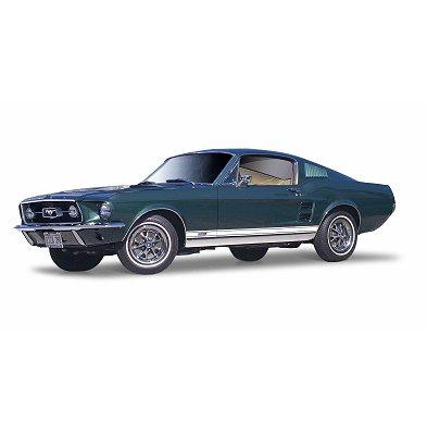 Modèle réduit - Ford Mustang Fastback (1967) - Echelle 1/18 : Vert - Maisto-M31166V