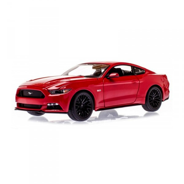 mod le r duit ford mustang gt 2015 echelle 1 18 rouge jeux et jouets maisto avenue des jeux. Black Bedroom Furniture Sets. Home Design Ideas