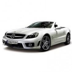 Modèle réduit - Mercedes Benz SL63 AMG - Echelle 1/18 : Blanc