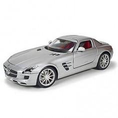 Modèle réduit - Mercedes Benz SLS Gullwing - Première Edition - Echelle 1/18 : Gris