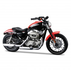 Modèle réduit Moto Harley-Davidson : 2007 XL 1200N Nightster : Echelle 1/18
