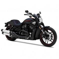 Modèle réduit Moto Harley-Davidson : 2012 VRSCDX Night Rod Special Noir et orange : Echelle 1/18