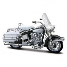Modèle réduit - Moto Harley-Davidson - Electra Glide FLH 1966 : Echelle 1/18