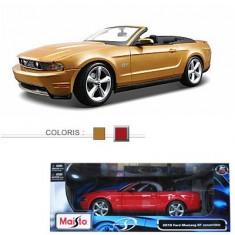 Modèle réduit - Mustang GT Convertible 2010 - Echelle 1/18 : Rouge