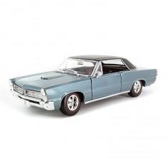 Modèle réduit Pontiac GTO 1965 Hurst Edition 8 Echelle 1/18 : Bleu