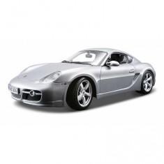 Modèle réduit - Porsche Cayman s - Echelle 1/18 : Gris