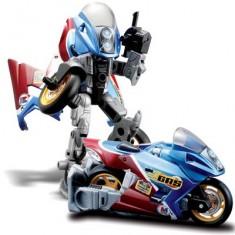 Moto transformable en robot Cykons : Gas