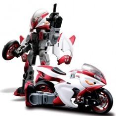 Moto transformable en robot Cykons : Res-Q