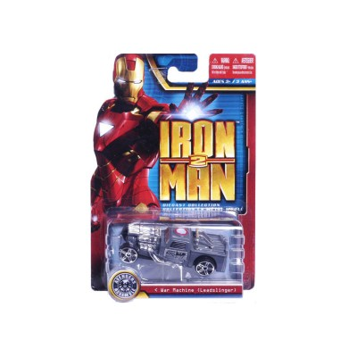 petite voiture iron man 2 war machine leadslinger maisto magasin de jouets pour enfants. Black Bedroom Furniture Sets. Home Design Ideas