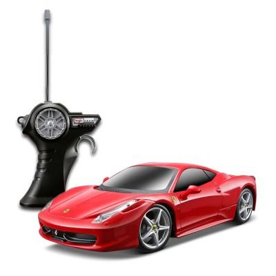 Voiture radiocommand e ferrari 458 italia echelle 1 24 - Image de voiture ferrari ...