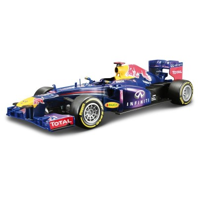 maisto voiture radiocommand e echelle 1 24 f1 infiniti rb9 red bull bleu rue des maquettes. Black Bedroom Furniture Sets. Home Design Ideas