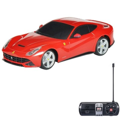 voiture radiocommand e ferrari f12 berlinetta 1 24 rouge jeux et jouets maisto avenue des jeux. Black Bedroom Furniture Sets. Home Design Ideas