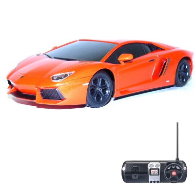 Voiture radiocommandée Lamborghini Aventador LP700-4 : Orange - Maisto-M81057O