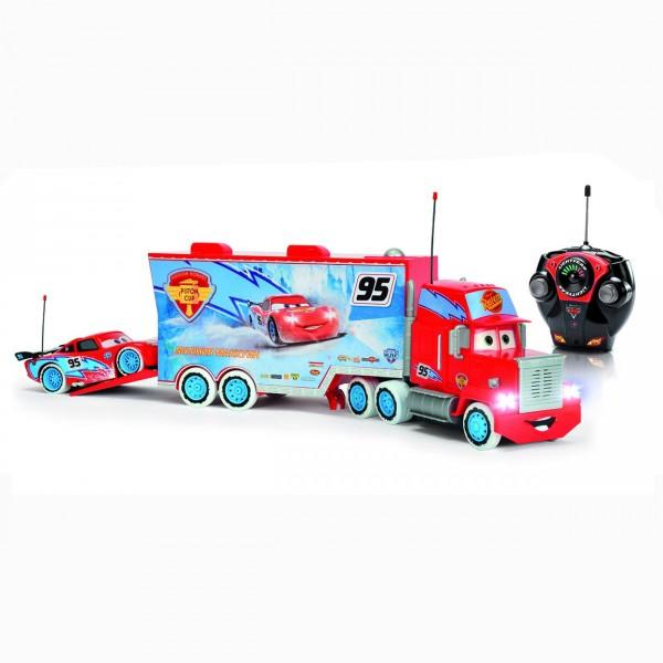 Camion radiocommandé Cars : Ice Racers : Mack Truck - Majorette-213089593