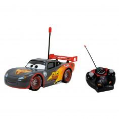 Voiture radiocommandée Cars : Flash McQueen Carbone 1/24