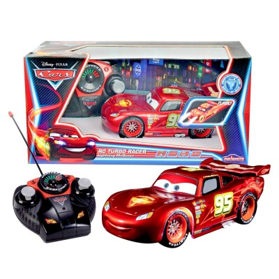 voiture radiocommand e cars flash mcqueen neon jeux et jouets majorette avenue des jeux. Black Bedroom Furniture Sets. Home Design Ideas