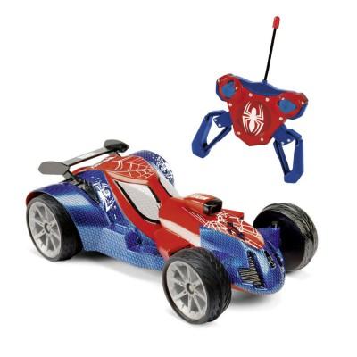 Majorette voiture radiocommand e spiderman rc turbo car voiture de course rue des maquettes - Spiderman voiture ...