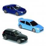 Voitures en métal Majorette : Lot de 3 véhicules