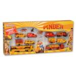 Voitures Majorette : Set Cirque Pinder : 11 véhicules et 4 figurines