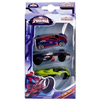 Voitures majorette spiderman coffret 3 voitures - Jeux de spiderman voiture ...