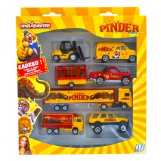 Voitures Majoteams : Pinder Square