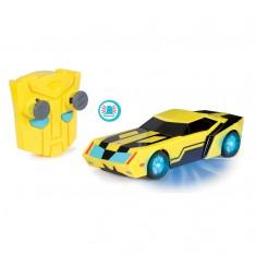 Voiture radiocommandée Transformers : Bumblebee 1/24