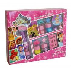 Coffret de maquillage Princesses Disney avec ventilateur