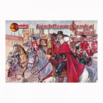 Figurine Gardes à cheval français : Gardes du cardinal de Richelieu