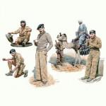 Figurines 2ème Guerre Mondiale : Ensemble 8e Armée Britannique: Afrique du Nord 1942