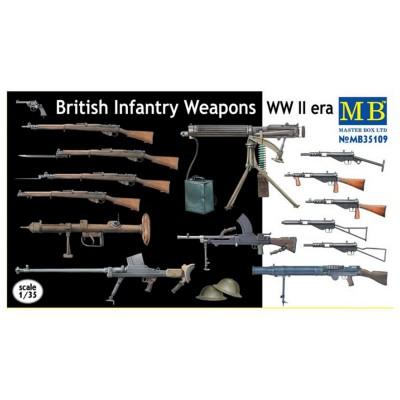 Accessoires militaires 2ème Guerre mondiale : Set armement britannique - Masterbox-MB35109