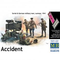 Figurines 2ème guerre mondiale : L'accident, opération Barbarosa été 1941