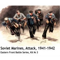 Figurines 2ème Guerre mondiale : Les marins soviétiques attaquent 1941-1942