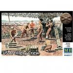 Figurines 2ème Guerre mondiale : Set artilleurs Us Army 1944-1945