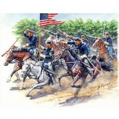 Figurines Guerre de Sécession : 8TH Pennsylvania Cavalry Regiment, Bataille de Chancellorsville