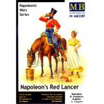 Figurines Guerres napoléoniennes : Lancier rouge de Napoléon