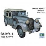 Maquette véhicule d'Etat-Major allemand : Sd.Kfz.1 Type 170 VK