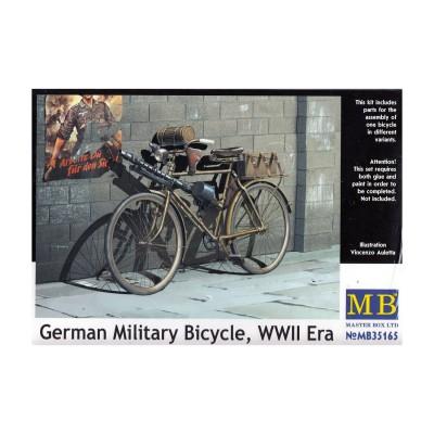 Maquette Vélo : Bicyclette militaire allemande de la 2ème guerre mondiale - Masterbox-MB35165