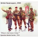 Figurines 2ème Guerre Mondiale : Parachutistes britanniques: Opération Market Garden 1944