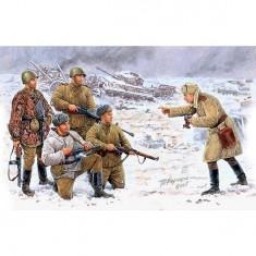 Figurines 2ème Guerre Mondiale : Photo sur le front: Infanterie soviétique : Korsun-Shevchenkovskiy