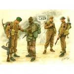 Figurines 2ème Guerre Mondiale : Troupes britanniques: Bataille de Caen 1944
