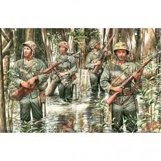 Figurines 2ème Guerre Mondiale : US Marines à Guadalcanal 1942