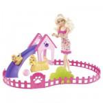 Barbie My Fab Sisters : Barbie élèves ses chiots