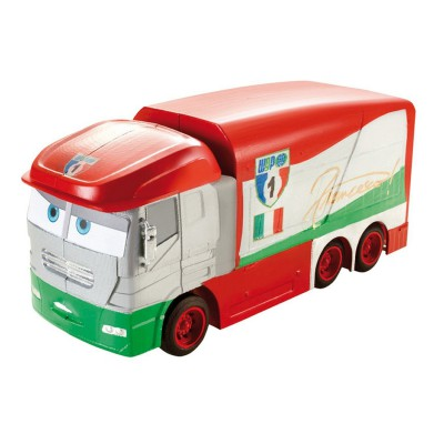camion transporteur transformation cars sal mattel magasin de jouets pour enfants. Black Bedroom Furniture Sets. Home Design Ideas