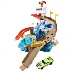 Circuit de voitures Hot Wheels : Piste Requin Attaque