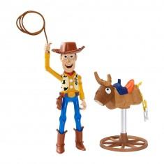 Figurine Interactive Toy Story : Woody fait du rodéo