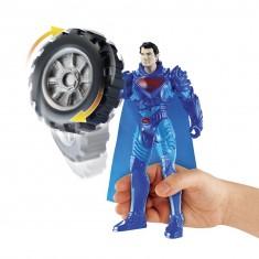 Figurine Superman Power Attack Deluxe : Mega Pneu