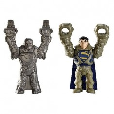 Figurine Superman Quickshot : Ultra héros vert et bleu