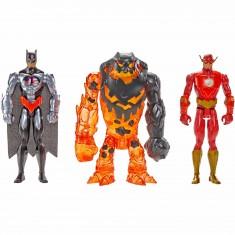 Figurines Batman Unlimited 30 cm : Batman, Flash, Clayface
