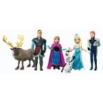 Figurines La Reine des Neiges : Coffret 6 figurines
