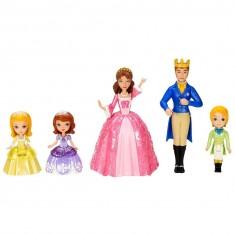 Figurines Princesse Sofia : La famille royale